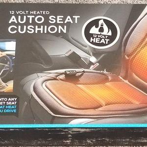12 Volt heated auto seat cushion